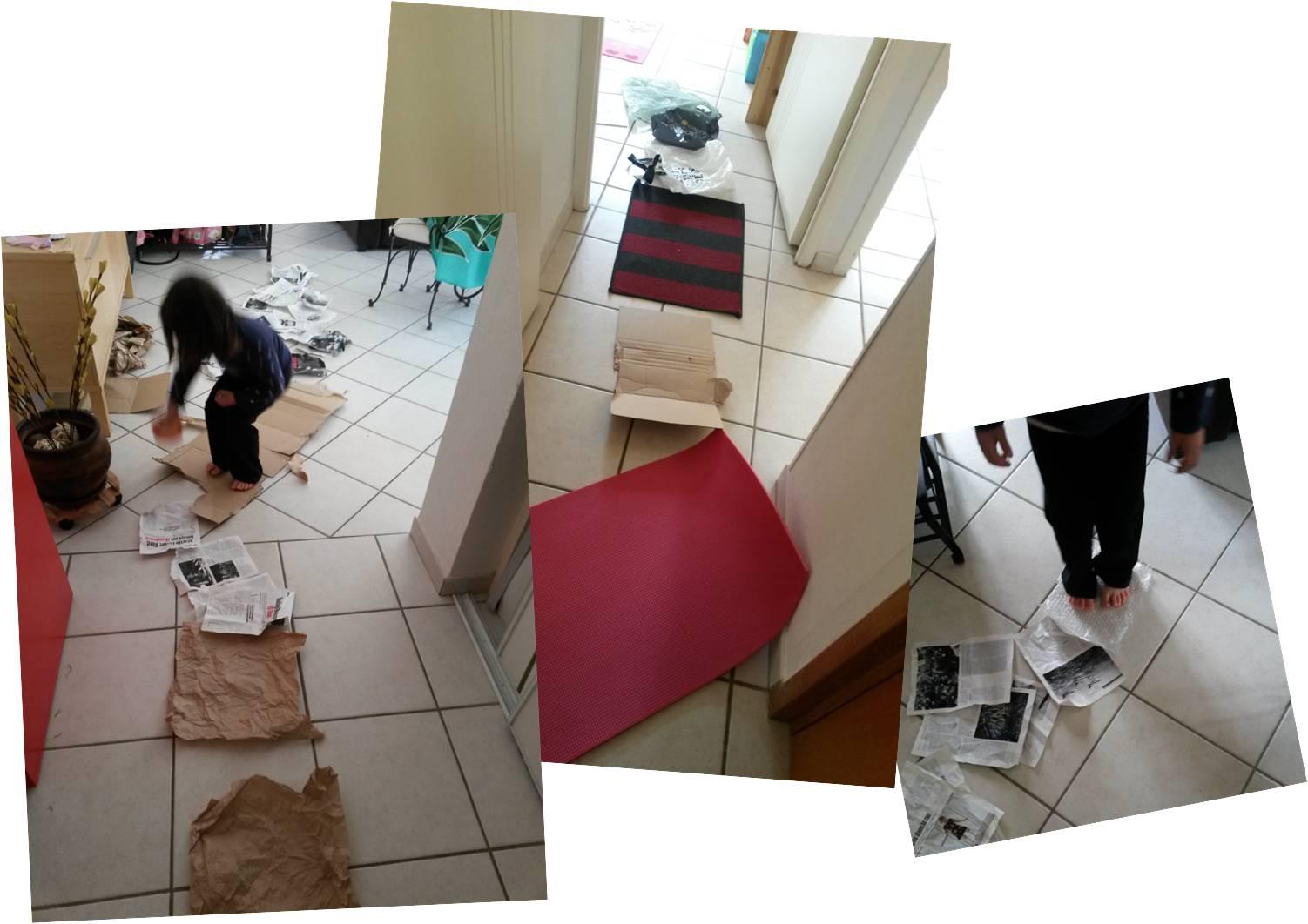 Tapis De Motricité Pas Cher comment créer un parcours de motricité maison ?