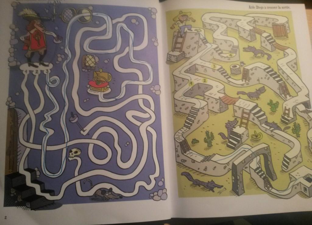 labyrinthes enfant