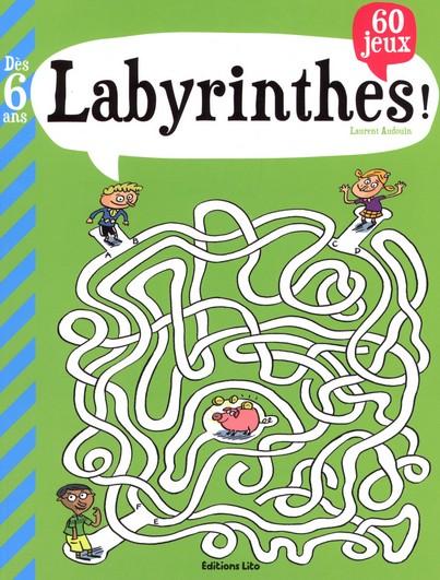60 labyrinthes pour enfant