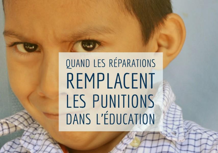 réparations dans l'éducation