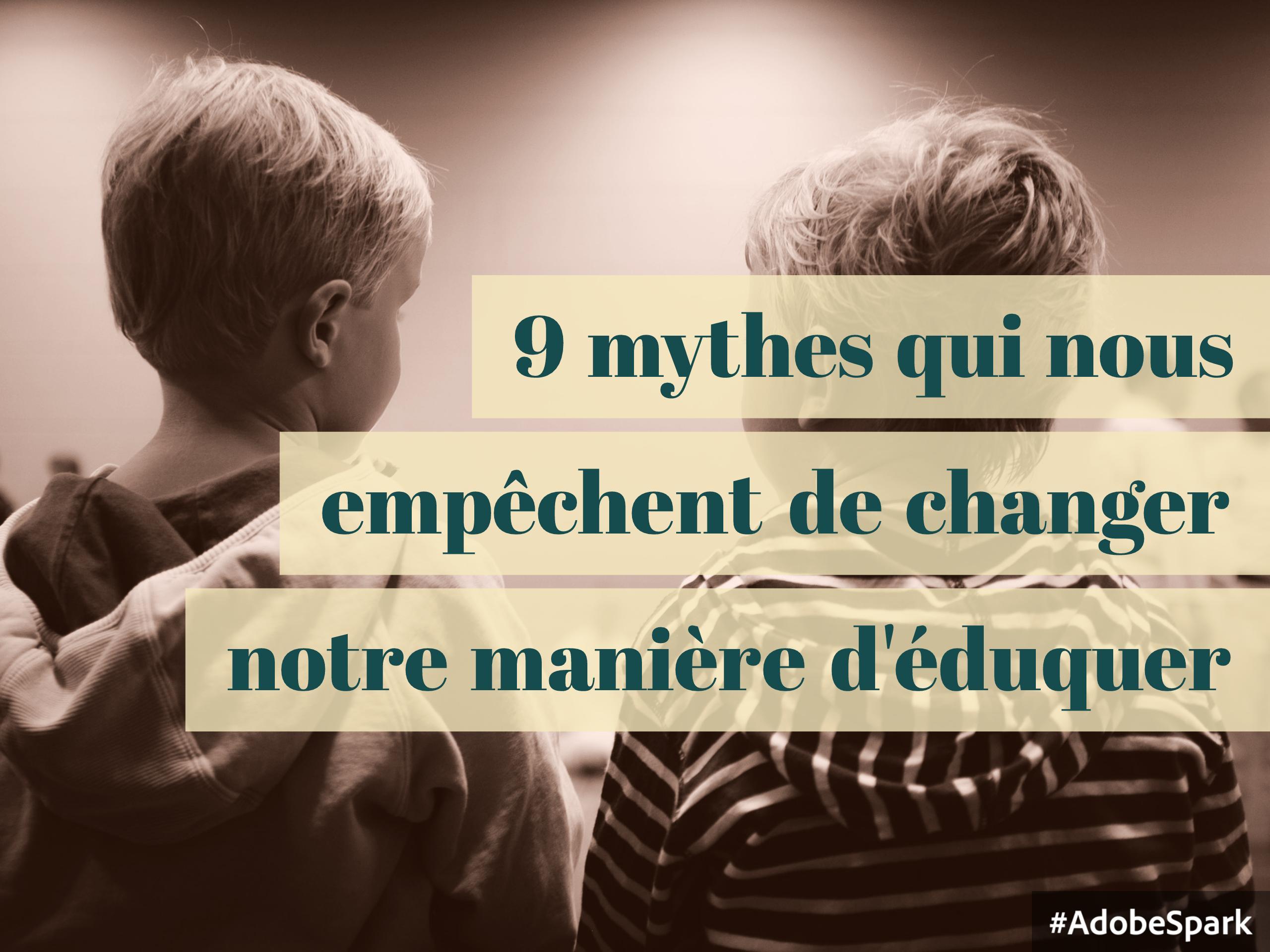 mythes éducation