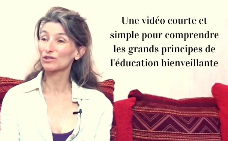 principes de l'éducation bienveillante