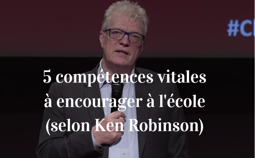 éducation ken robinson