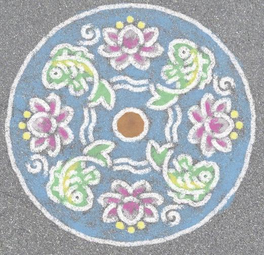 mandala jardin