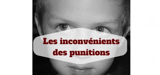 inconvénients punitions