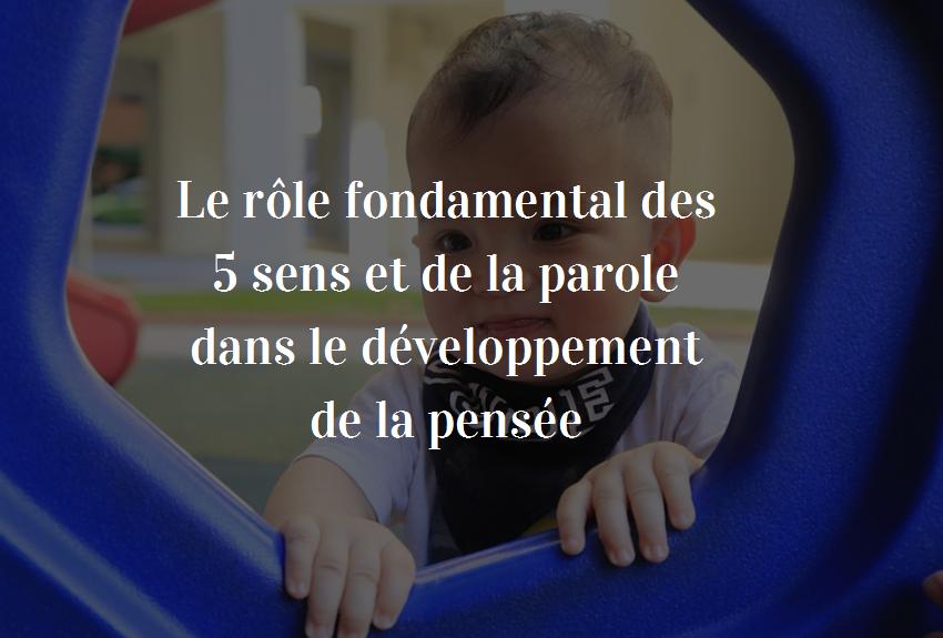 développement de la pensée des enfants