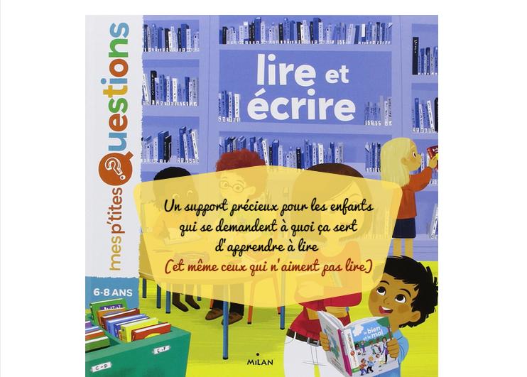 Lire Et Ecrire Collection Mes P Tites Questions Je N Aime