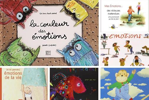 livres pour enfants sur les émotions