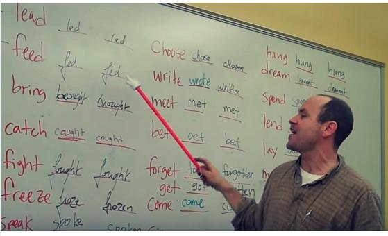 Apprendre Les Verbes Irreguliers Anglais En S Amusant