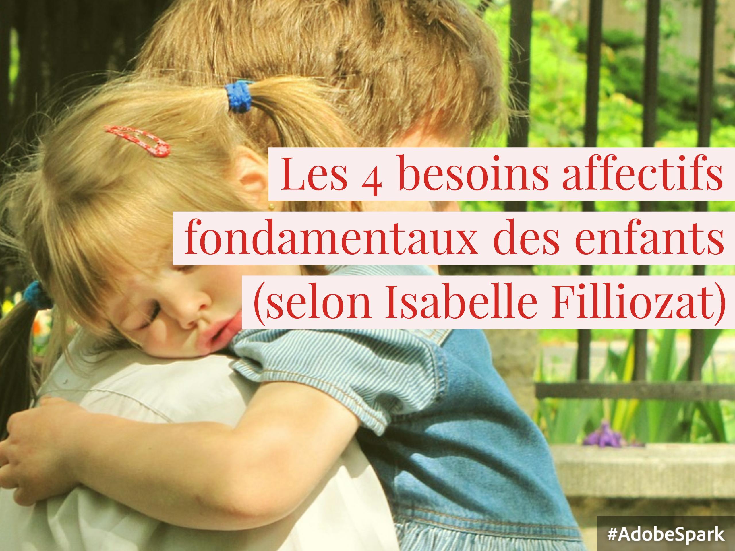 besoins affectifs enfants