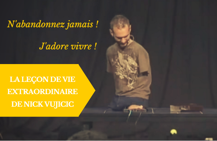 vidéo français nick vujicic
