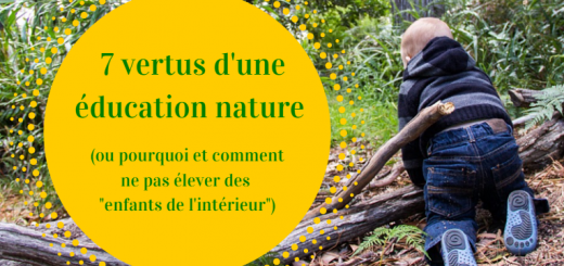 éducation nature