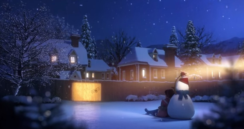 court métrage lily and the snowman