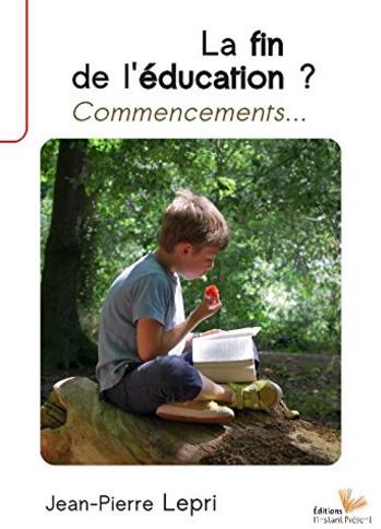 la fin de l'éducation