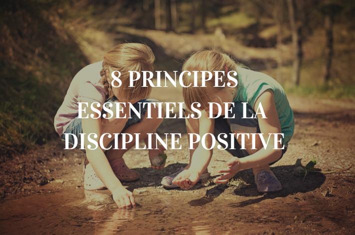 principes discipline positive