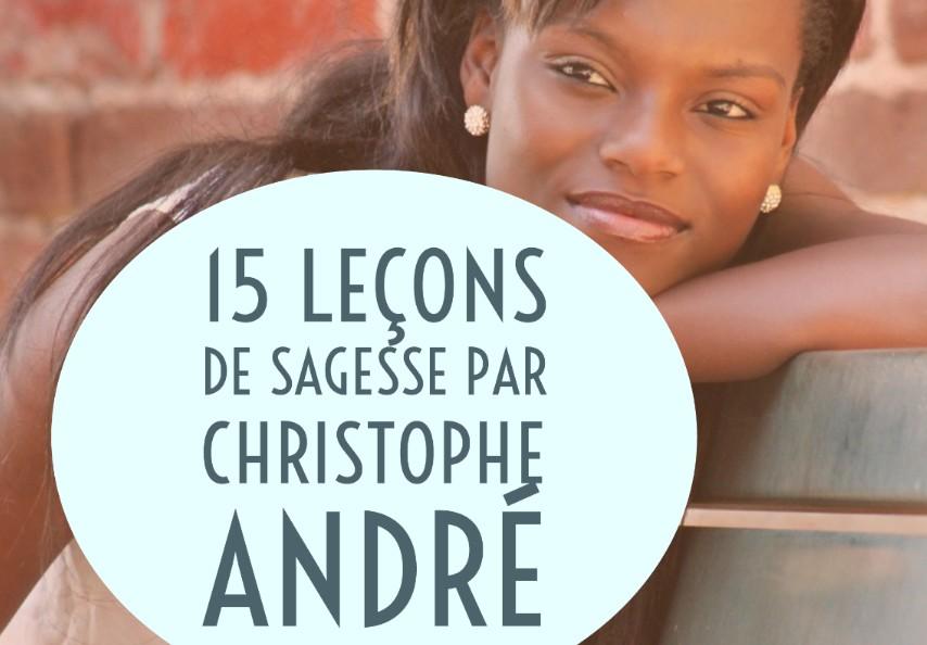 sagesse christophe andré