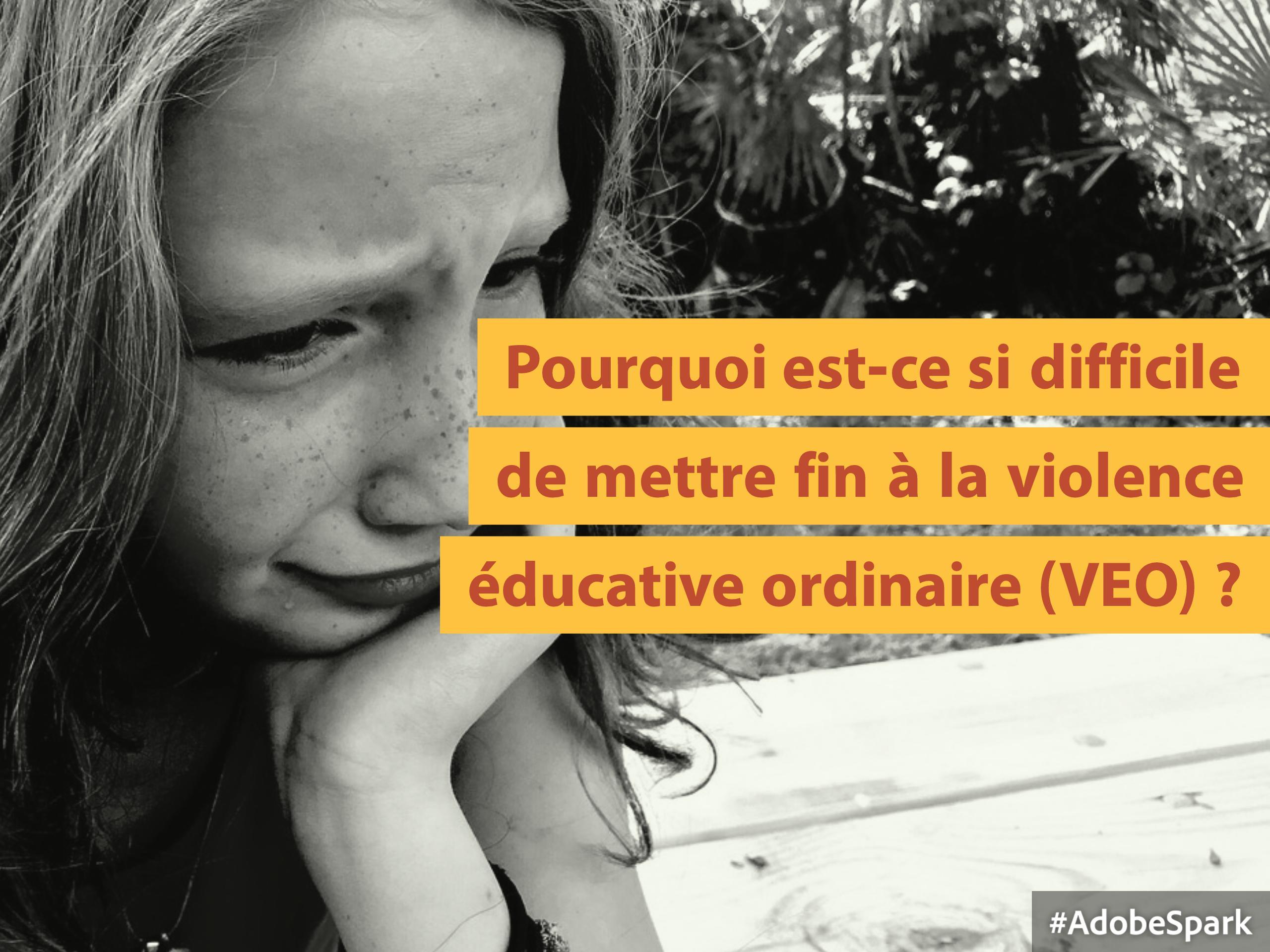mettre fin violence éducative ordinaire
