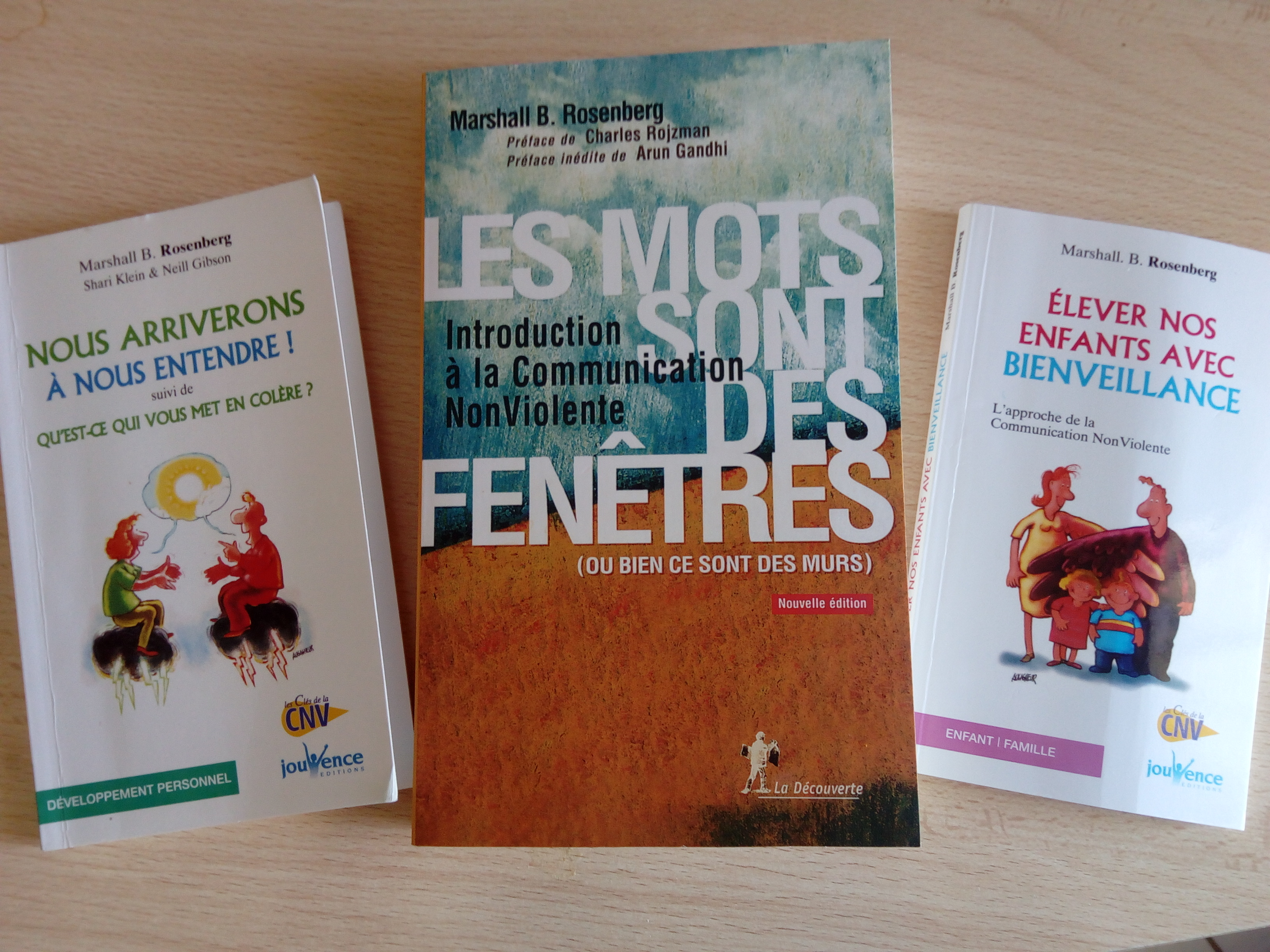 livres pour s'initier à la cnv