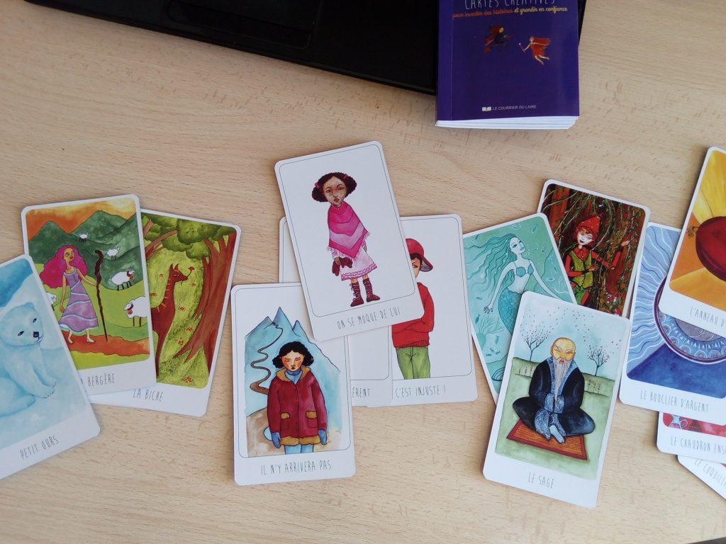 cartes créatives enfants blocage psychologique
