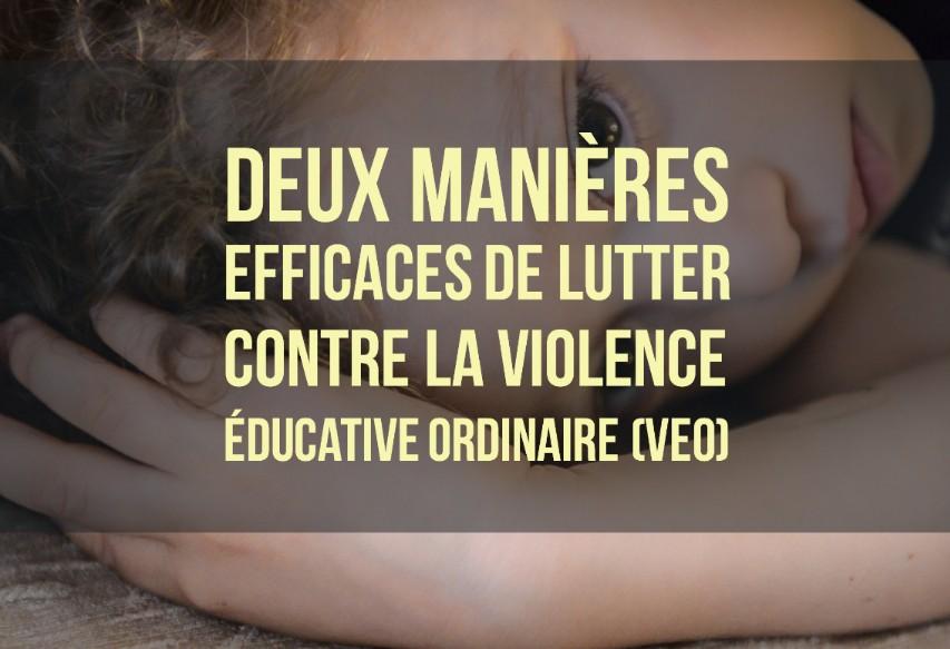 lutter contre violence éducative ordinaire veo
