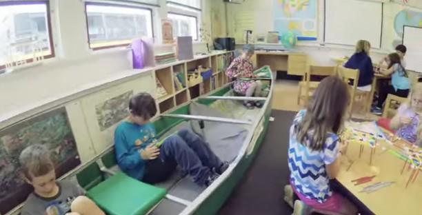 salles de classe pas comme les autres