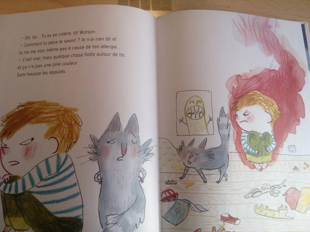livre enfant sur la colère