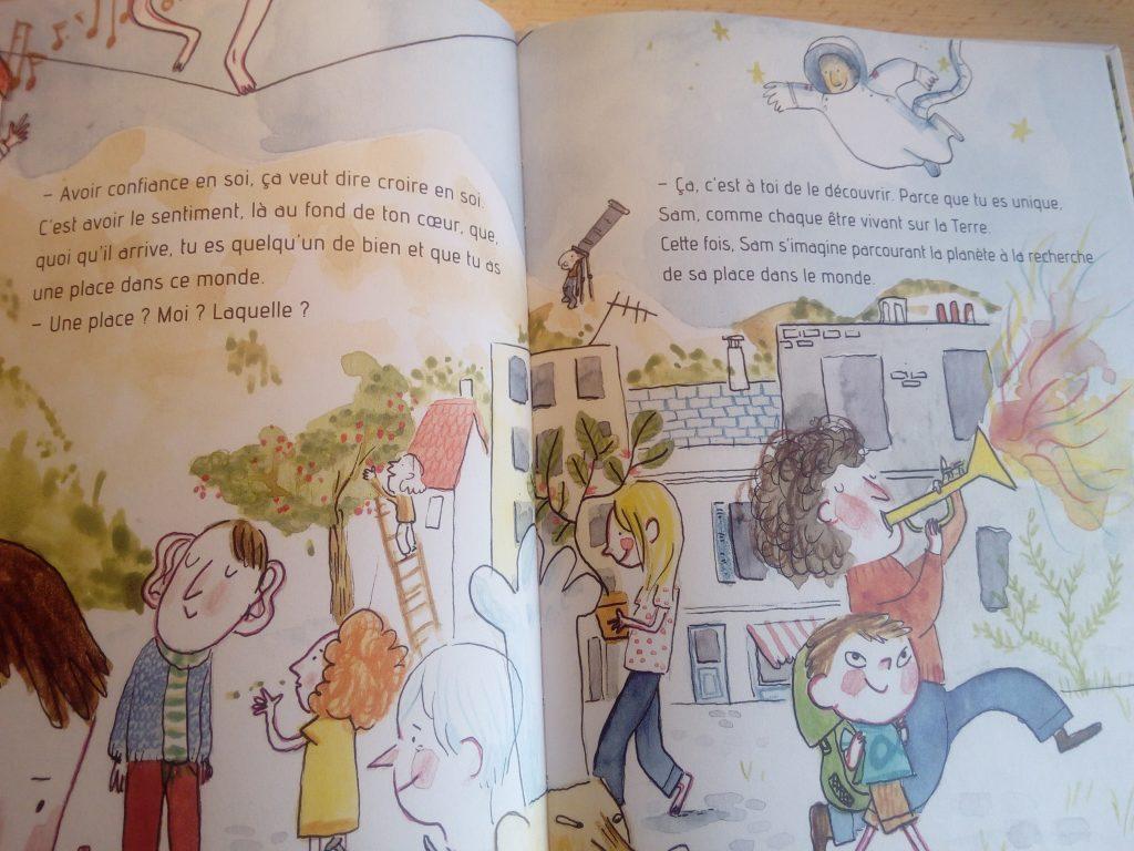 livre pour les enfants sur la confiance en soi