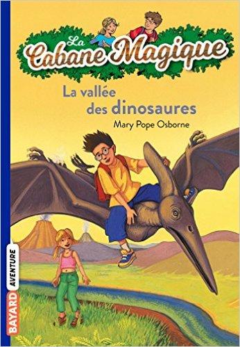 cabane magique vallée des dinosaures