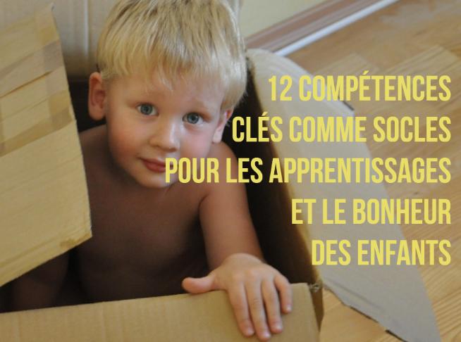 compétences apprentissage bonheur enfants