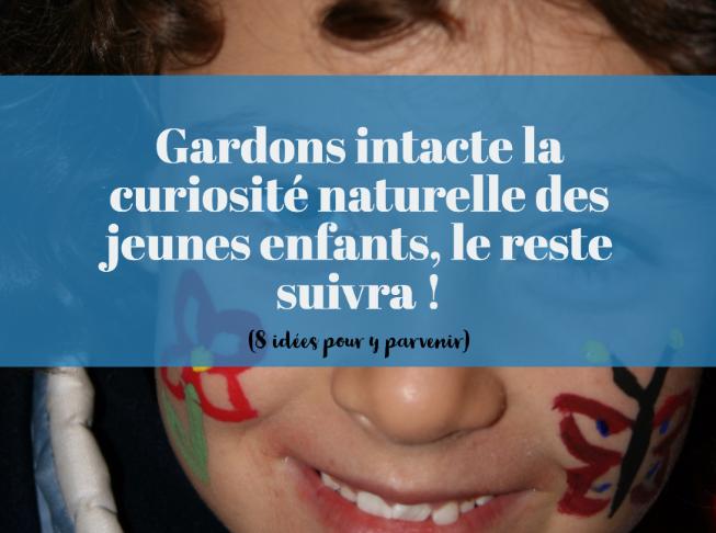 créativité naturelle jeunes enfants