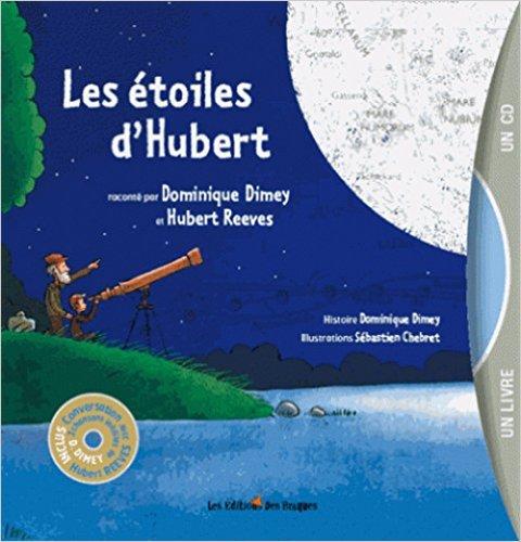 livre les étoiles d'Hubert