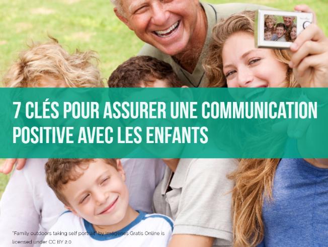 communication positive avec les enfants