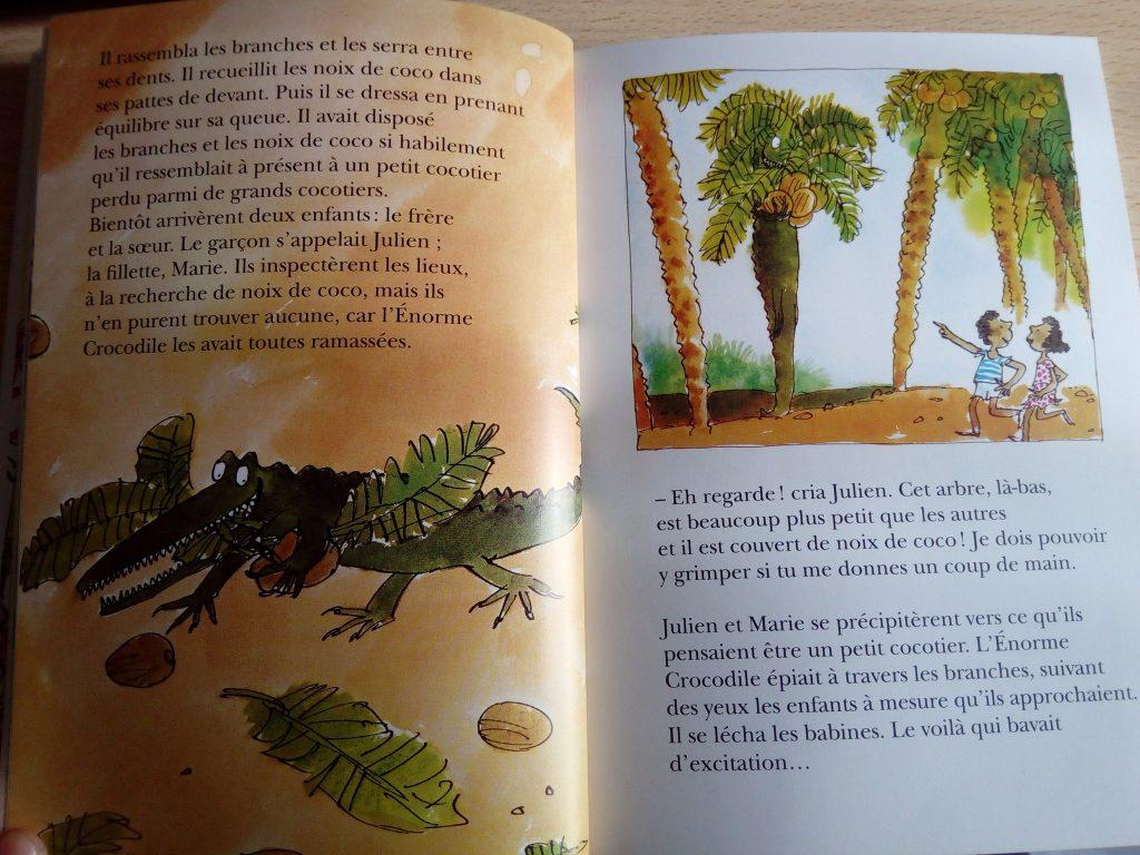 livre énorme crocodile dahl