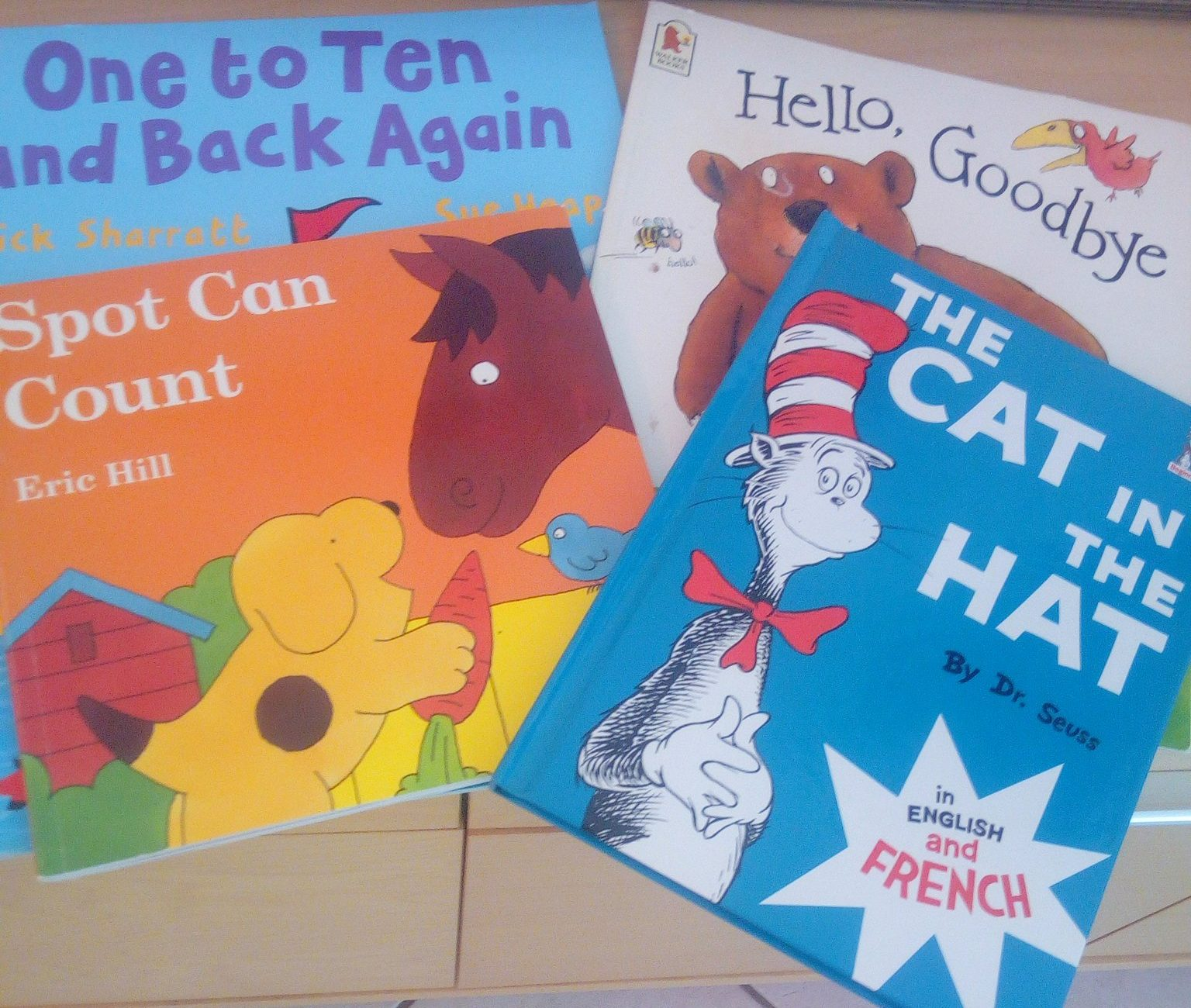 5a01e5c2e105d 3 livres (+ 1) pour apprendre l'anglais (dès 4/5 ans)