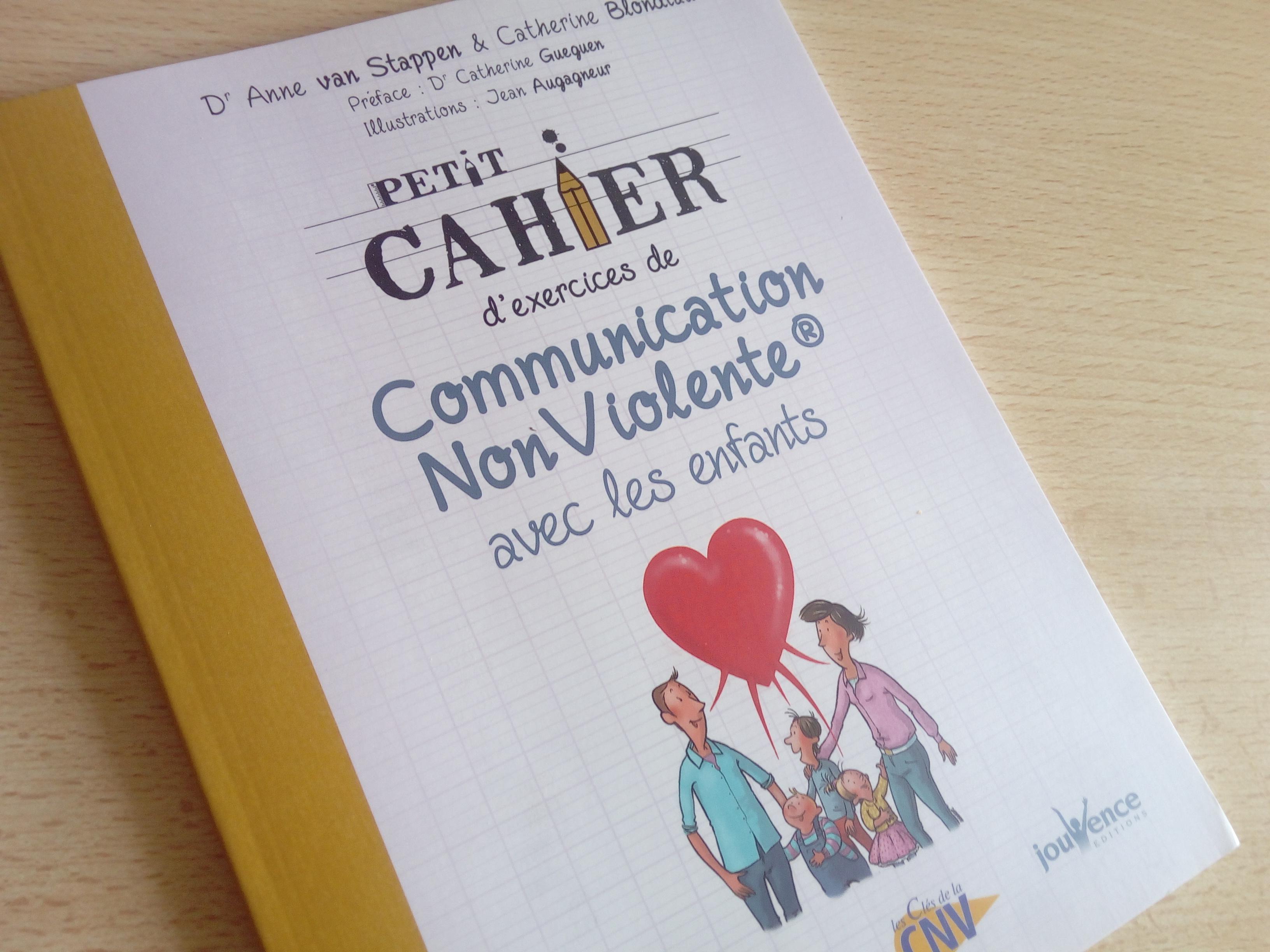 cahier exercices communication non violente enfant