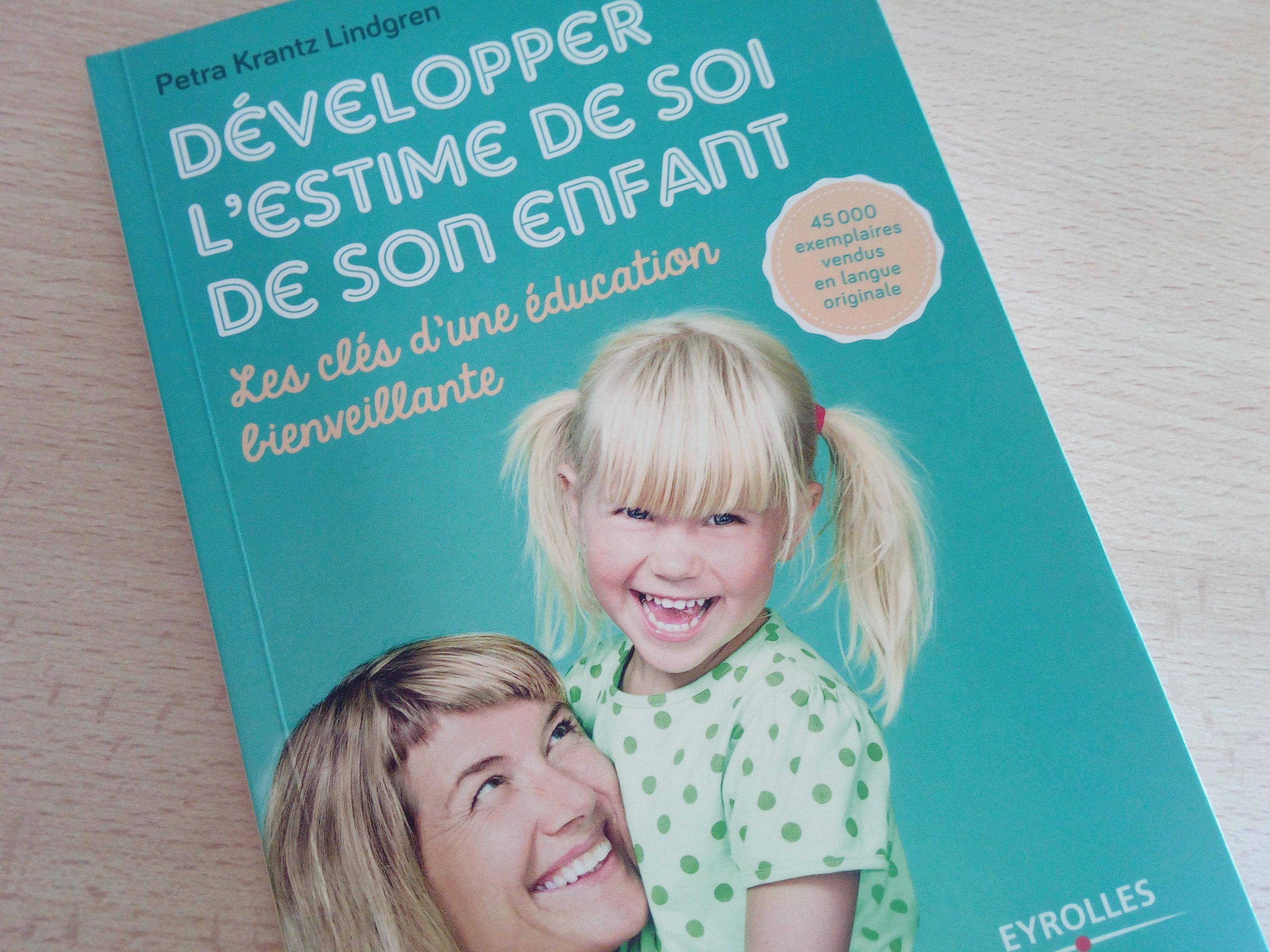 livre développer l'estime de soi de son enfant