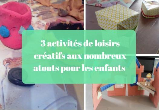 activités loisirs créatifs enfants