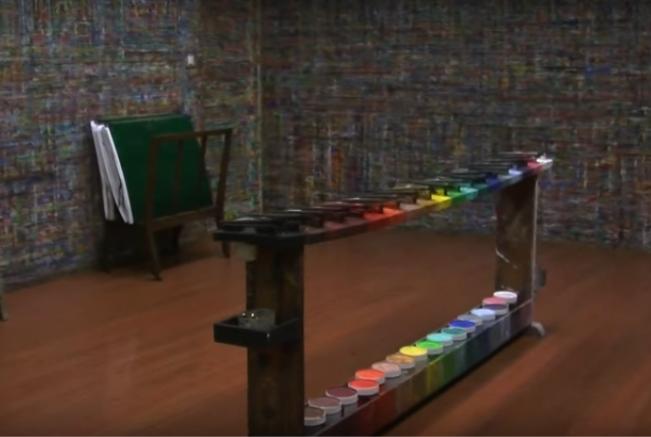 clos lieu jeu de peindre