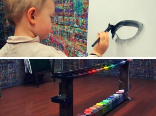 jeu de peindre arno stern
