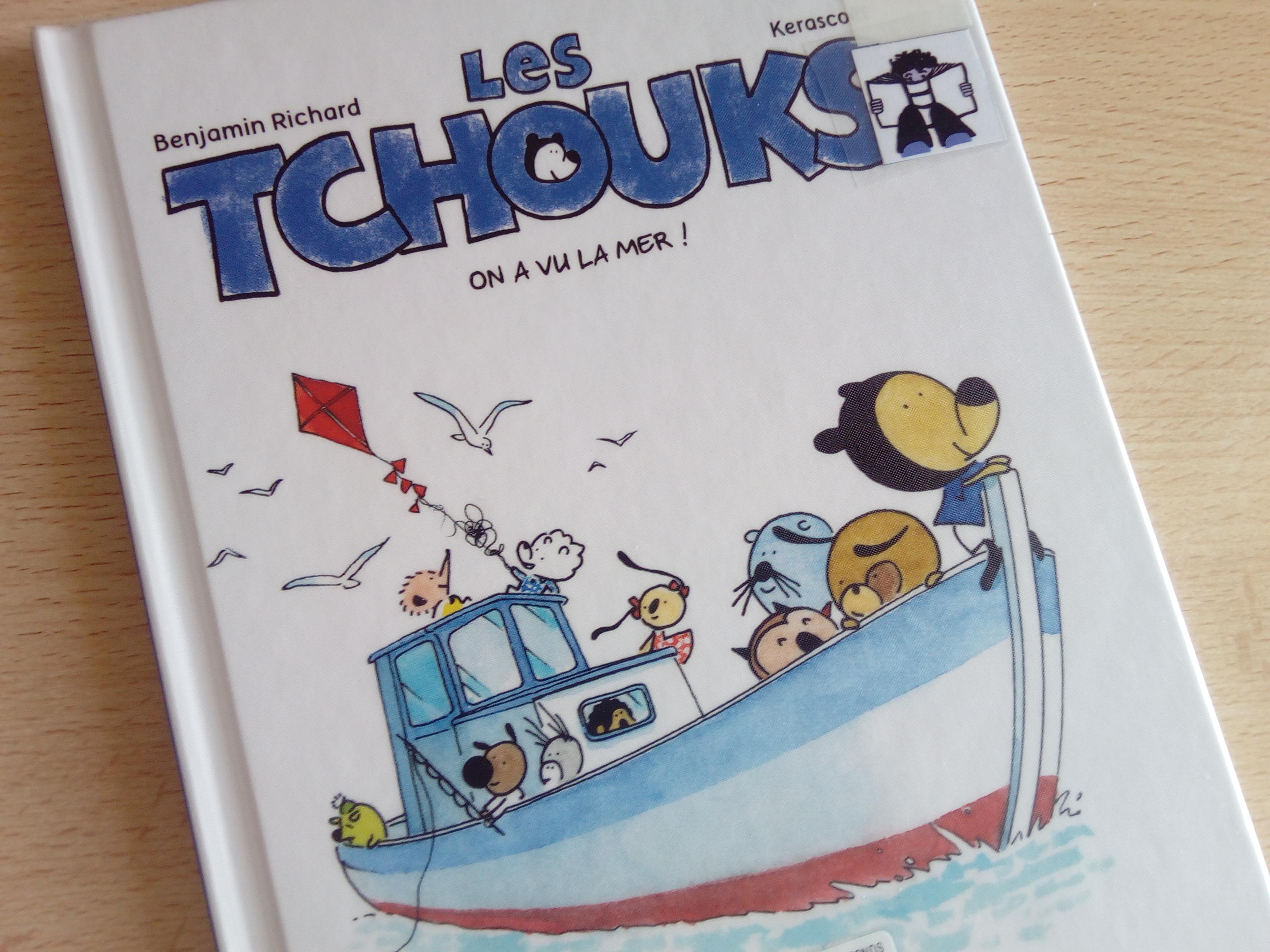 bande dessinée bienveillante enfants les tchouks