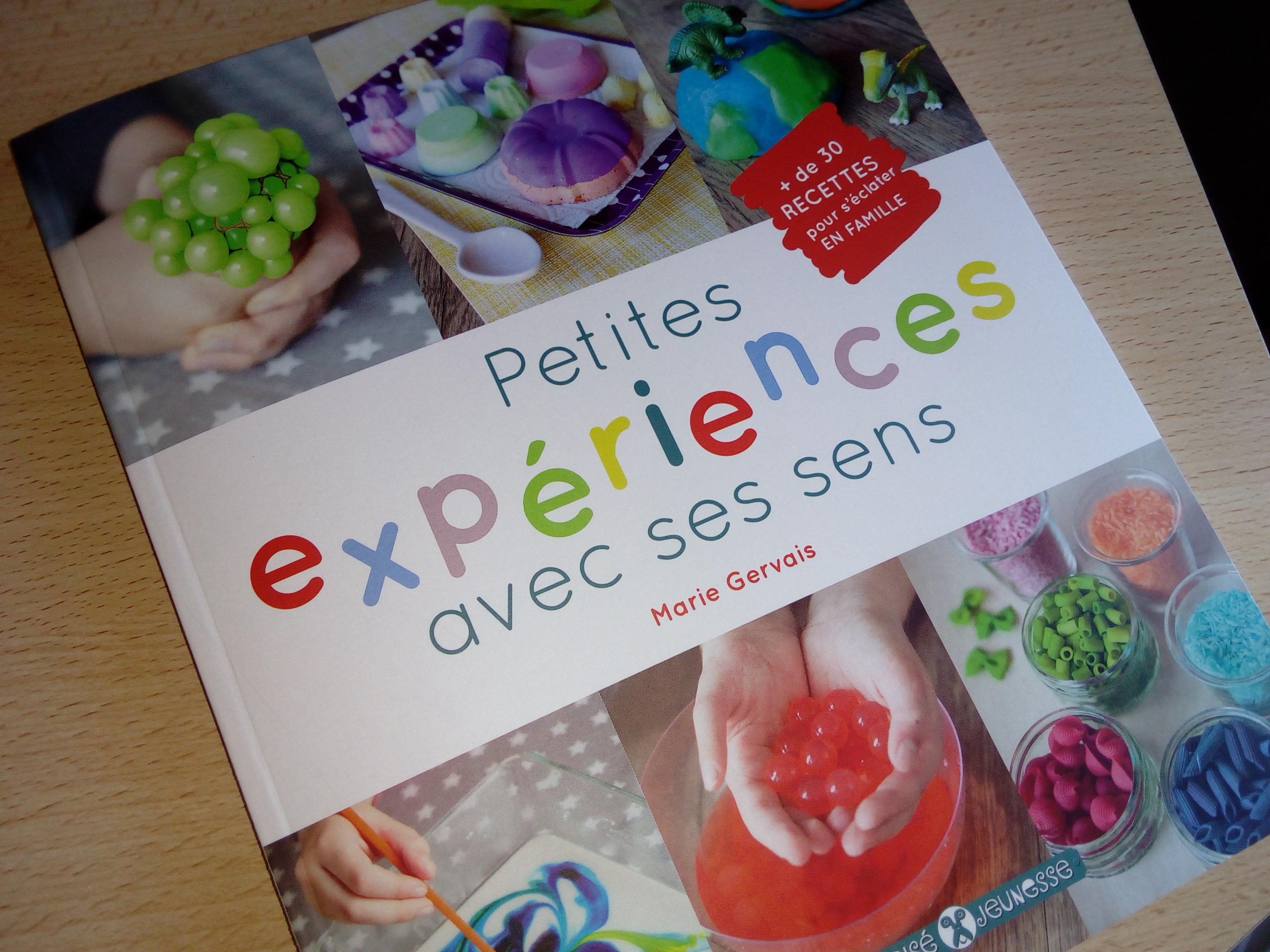 petites expériences avec sens recette enfants