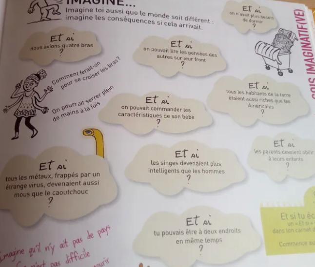 livre exercices créativité enfants