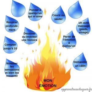 La métaphore de la flamme : un outil pour apprivoiser les émotions fortes et l'anxiété