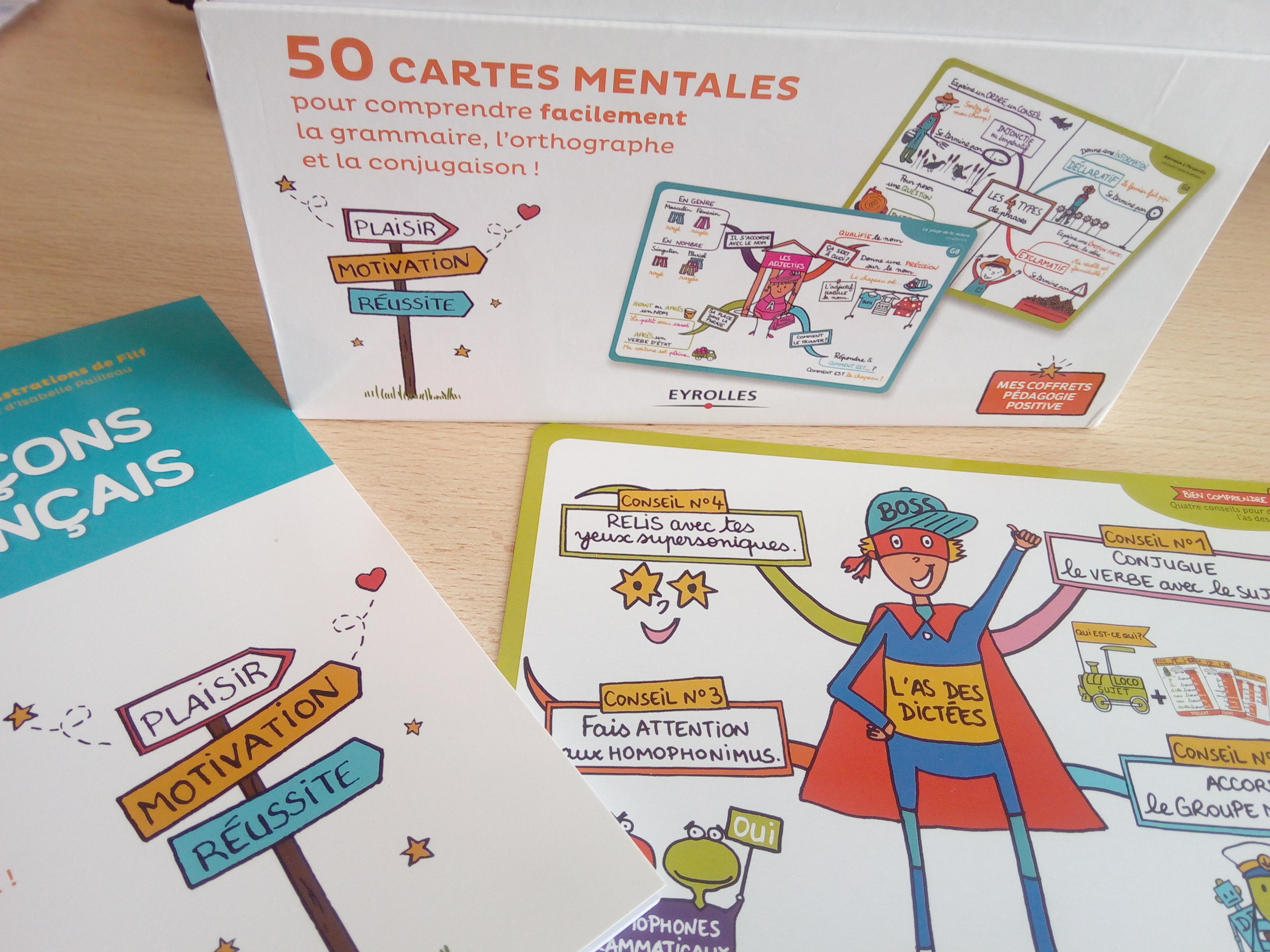 coffret cartes mentales français