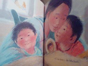 sur les genoux de maman livre enfants jalousie