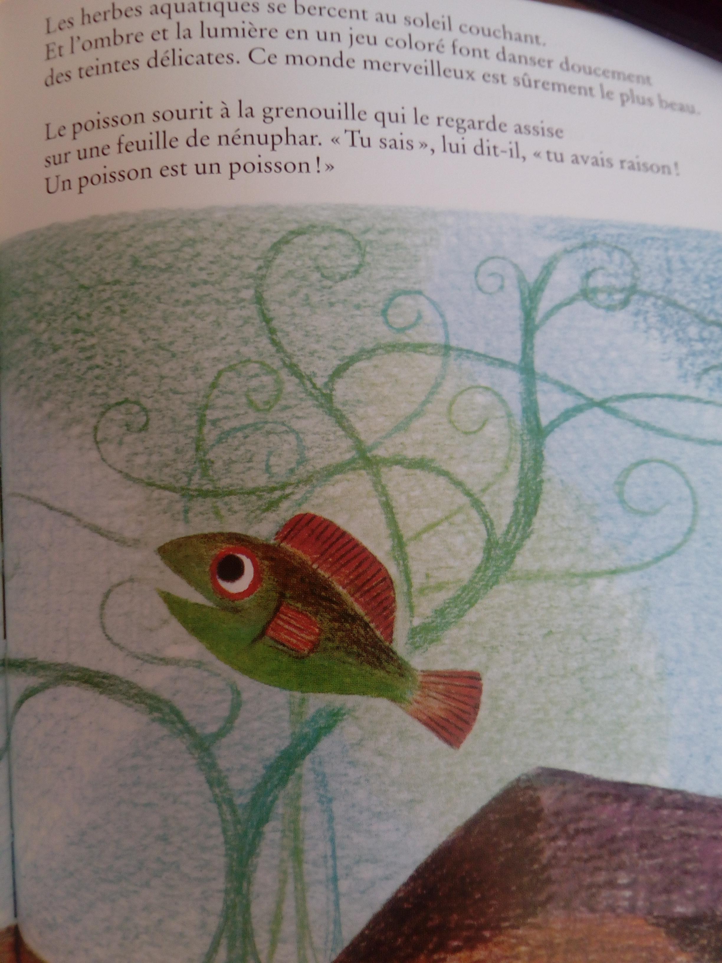 livre différence un poisson est un poisson