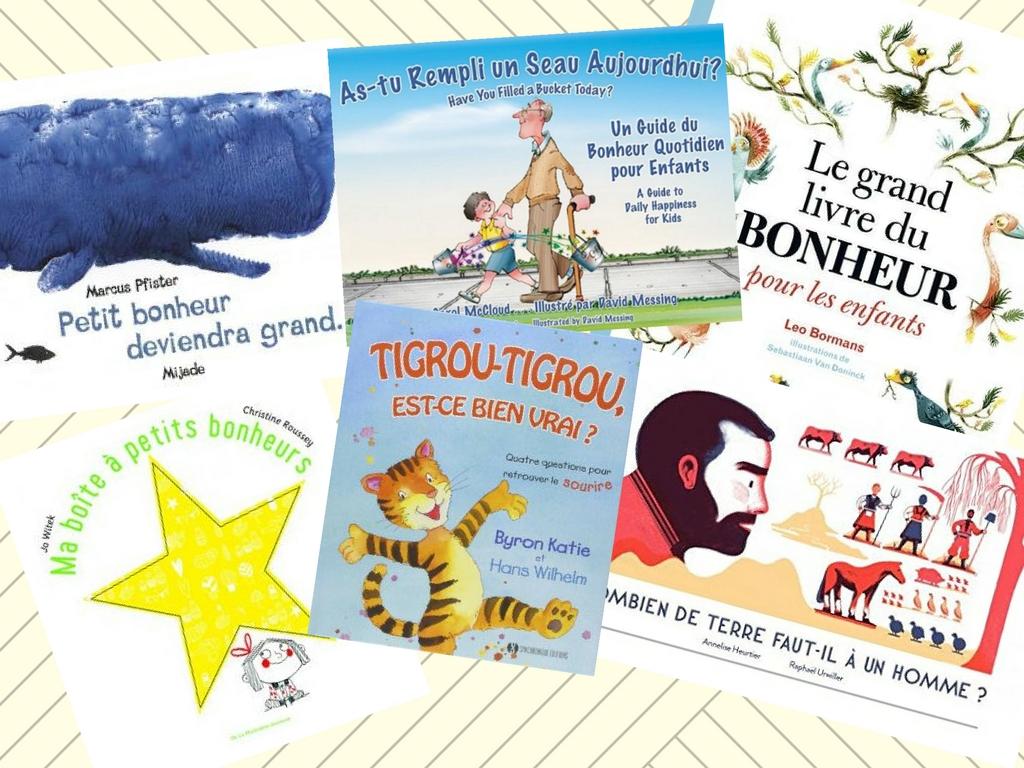 livres bonheur enfants