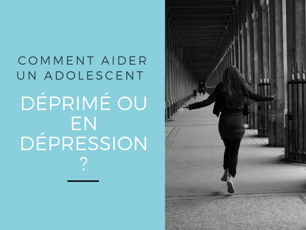 Comment aider un adolescent déprimé dépression