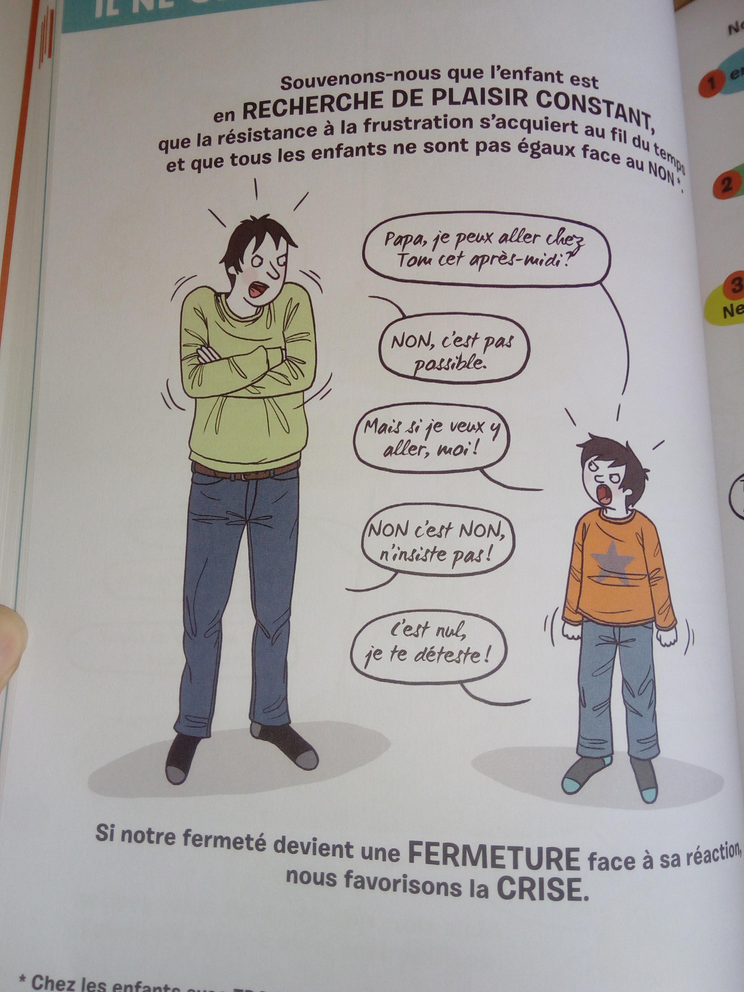 livre décoder les crises des enfants