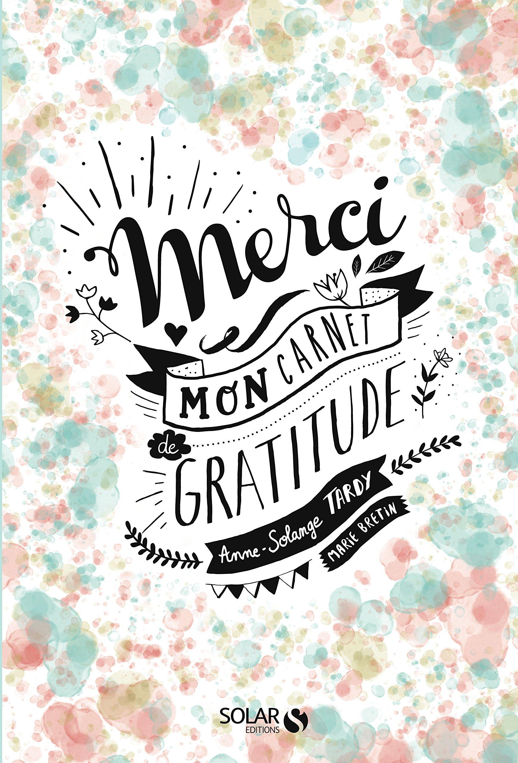 merci carnet de gratitude